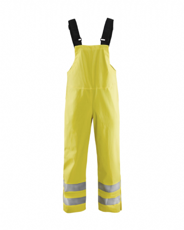 Blaklader 1386 Rain Bib Trousers, Heavy Weight Extreme (Yellow)